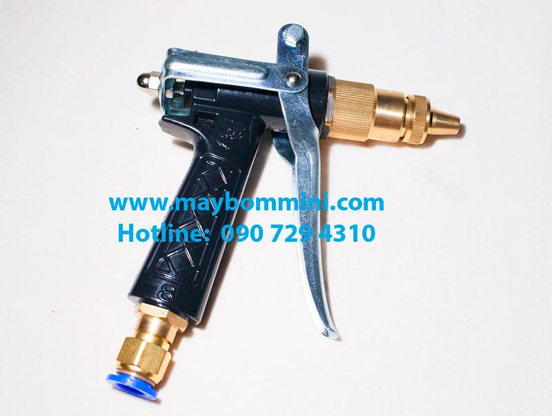 sung ap luc rua xe bang bom nuoc mini Súng xịt rửa xe áp lực dùng cho máy bơm nước mini