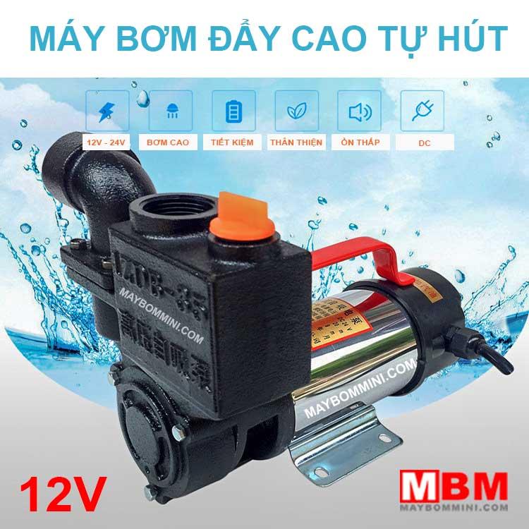May Bom Cao Tu Hut 12v