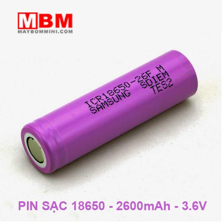 Pin Sac 18650