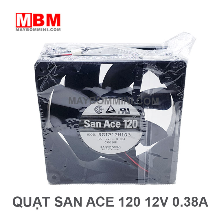 Quat 12v San Ace 120