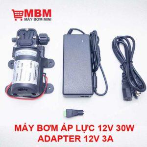 Bom Nuoc Mini Ap Luc 12v