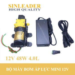 Bom Nuoc Mini Ap Luc 12v Cao Cap