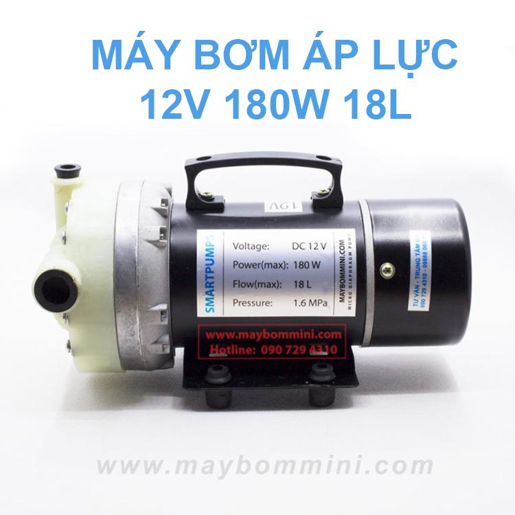 May Bom Ap Luc 12v 180w 18l