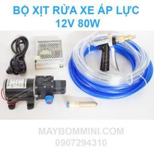May Bom Nuoc Mini 12v Ap Luc