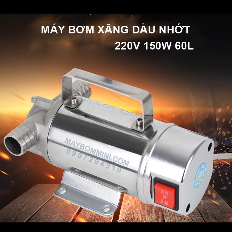 May Bom Xang Dau Nhot 220v