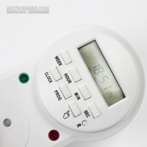 Digital LCD Power Timer 220v