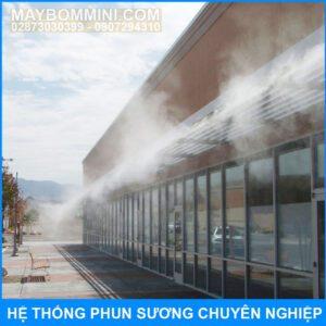 He Thong Phun Suong Chuyen Nghiep