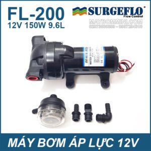 May Bom Ap Luc SURGEFLO 12V 150W FL200