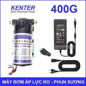May Bom Ap Luc Phun Suong Va Loc Nuoc RO 400G Kem Nguon