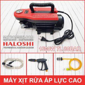 May Rua Xe Ap Luc Cao 220V 1500W 7L 70bar Haloshi Thai Lan