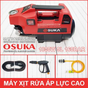 May Rua Xe Ap Luc Cao 220V 1800W 9L 160bar Suka