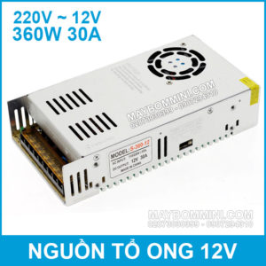 Nguon To Ong 12V 30A 360W