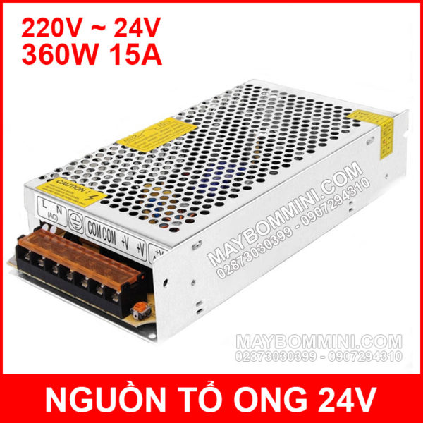 Nguon To Ong 24V 15A 360W