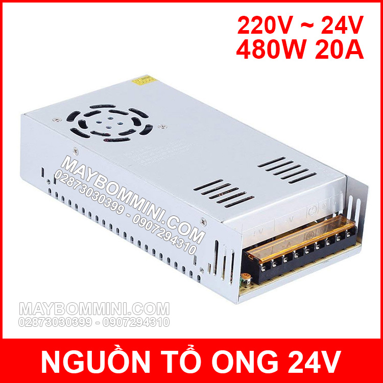 Nguon To Ong 24V 20A 480W