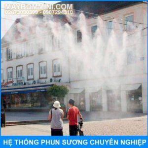 Phun Suong Lam Mat Quan Ca Phe Nha Hang