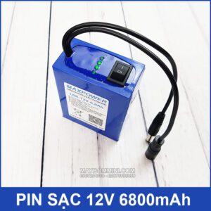 Pin 12v 6800mah Chat Luong Cao