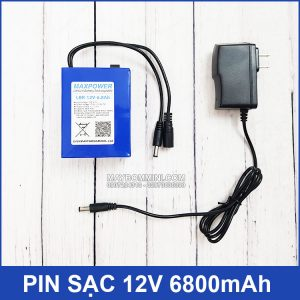 Pin Sac 12v 6800mah Kem Sac