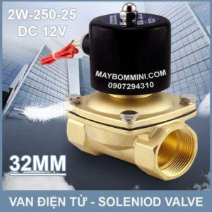 SOLENIOD VALVE Van Dien Tu 12v 2w 250 25 32mm