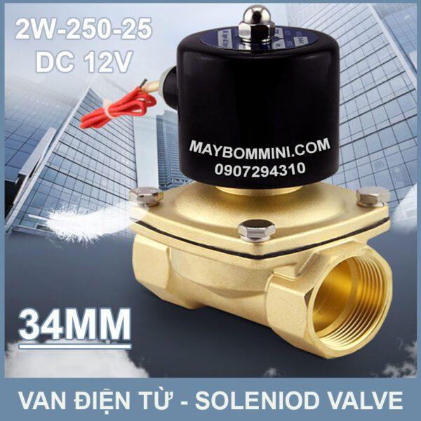 SOLENIOD VALVE Van Dien Tu 12v 2w 250 25