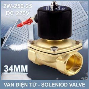SOLENIOD VALVE Van Dien Tu 220v 2w 250 25 Lazada