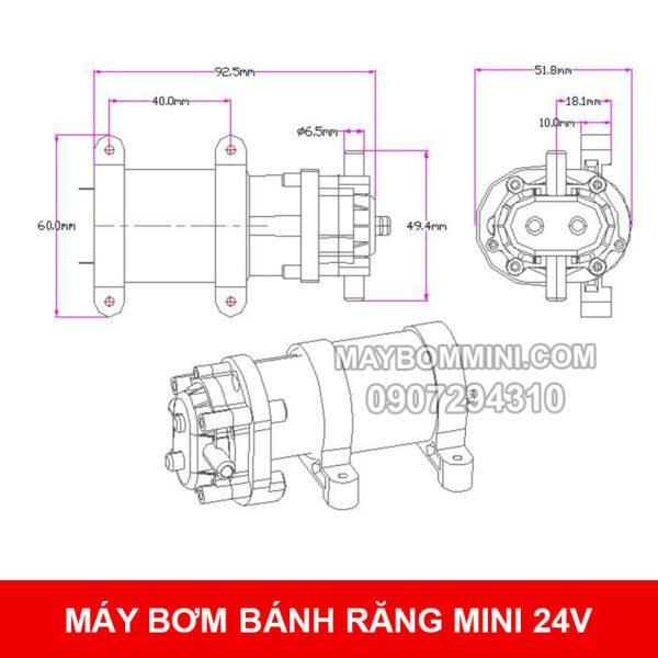 Ban Ve May Bom Mini Banh Rang
