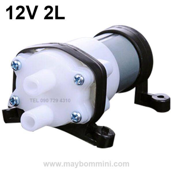 Bom Nuoc Ap Luc 12v 2l