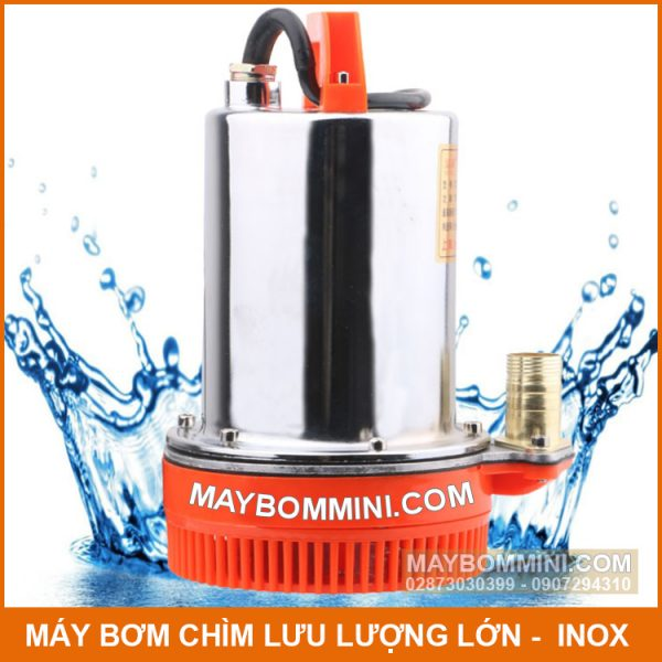 Bom Nuoc Thai 12v Inox