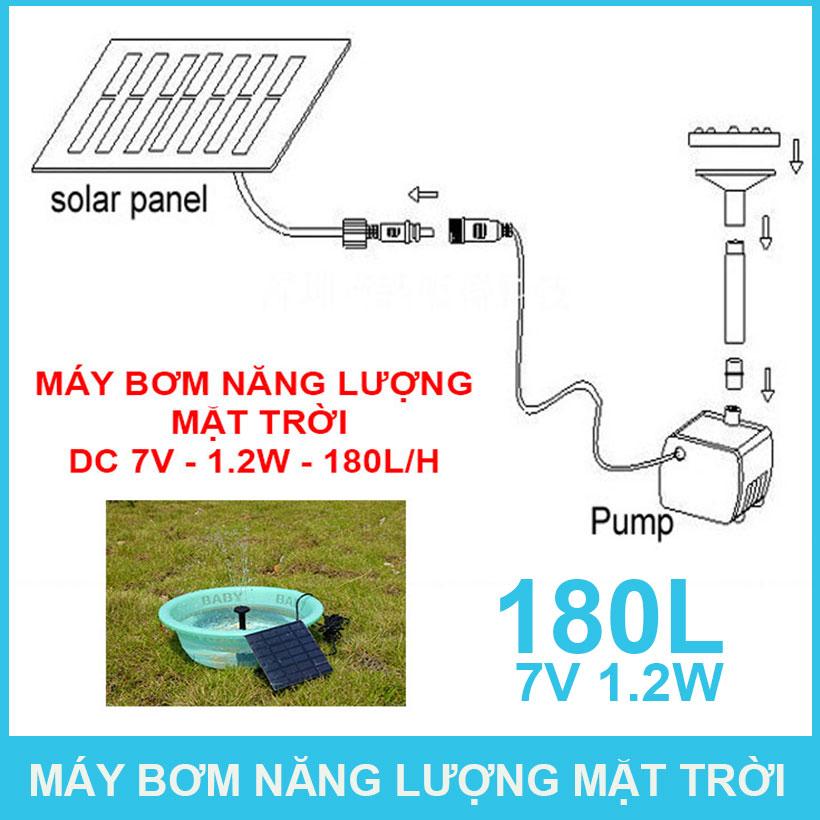 Cach Sung Dung May Bom Nang Luong Mat Troi