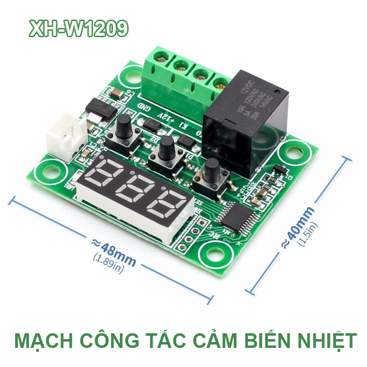 Kich Thuoc Mach Cong Tac XH W1209
