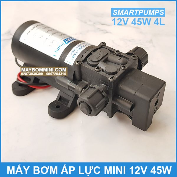 May Bom Ap Luc Mini 12v 45w 4l