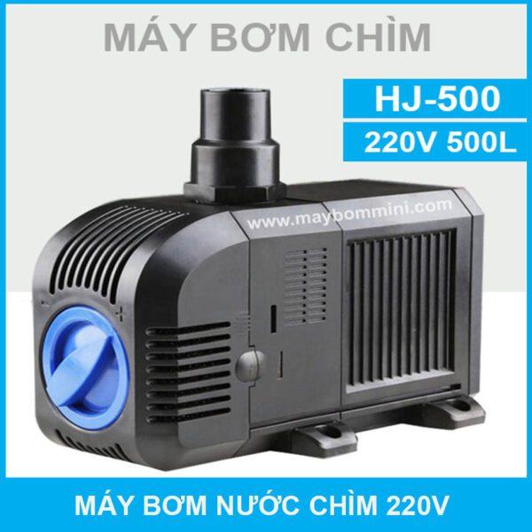 May Bom Chim 220v Hj 500
