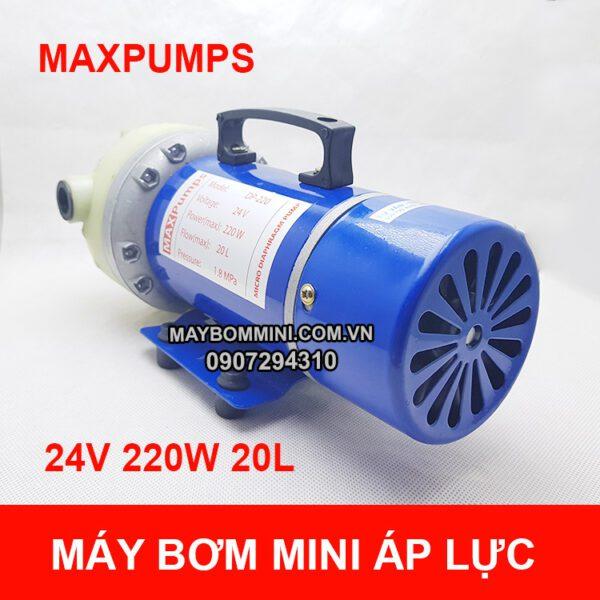 May Bom Mini 12v 220w 18l