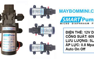 May Bom Mini Ap Luc 60W 12V Smartpumps