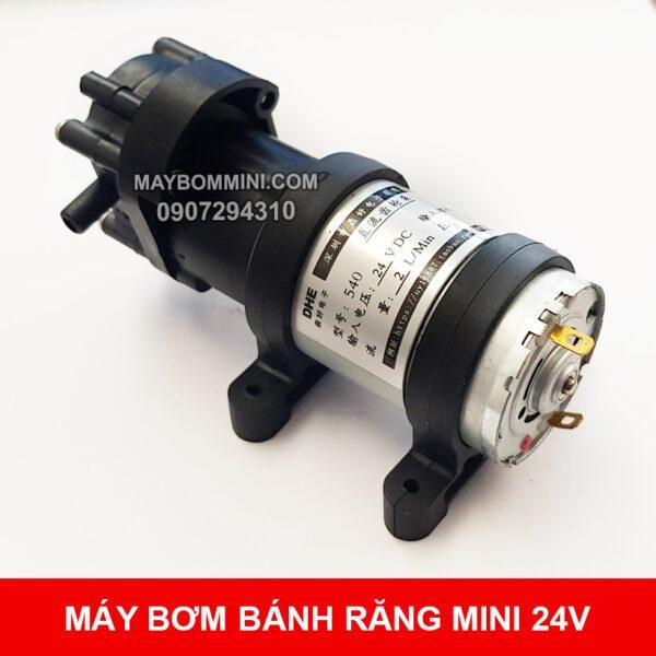 May Bom Mini Banh Rang 24v