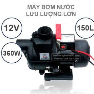 May Bom Nuoc 12v Luu Luong Lon