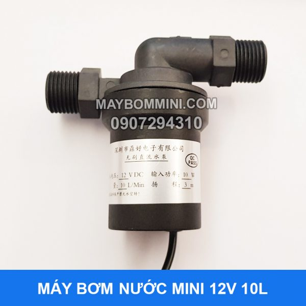 May Bom Tro Luc Nuoc 12v