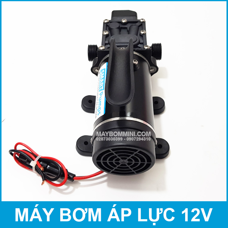 May Rua Xe Mini 12V 120W Smartpumps