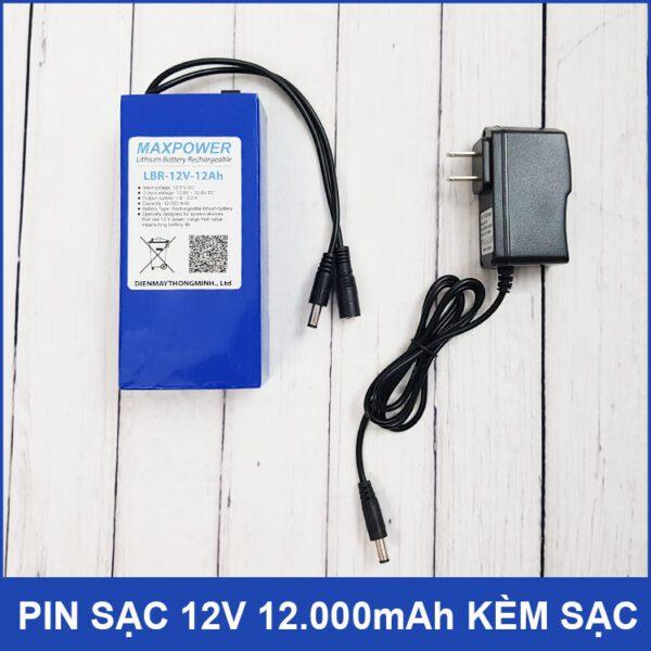 Pin Sac 12v Kem Sac Pin