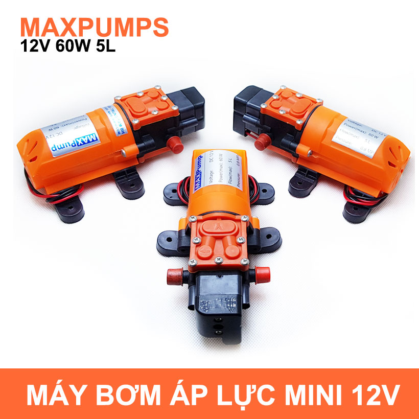May Bom Mini Ap Luc 12v 60w Lazada Maxpumps