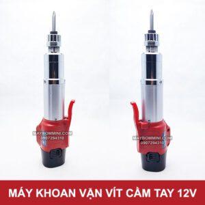 May Van Vit Dung Pin Cam Tay 12v