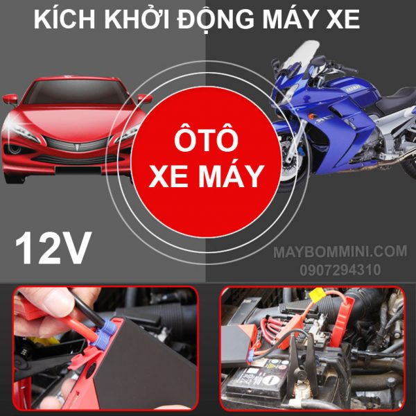 Box Kich De May Oto Xe May