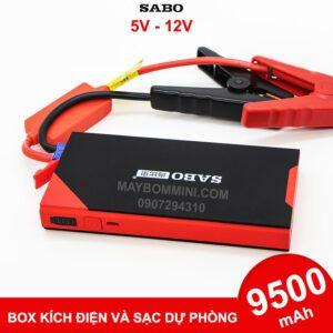 Box Kich Dien Du Phong O To Xe May 12V 9500mah