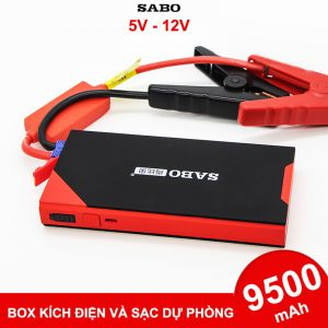 Box Kich Dien Du Phong O To Xe May 12V 9500mah Lazada