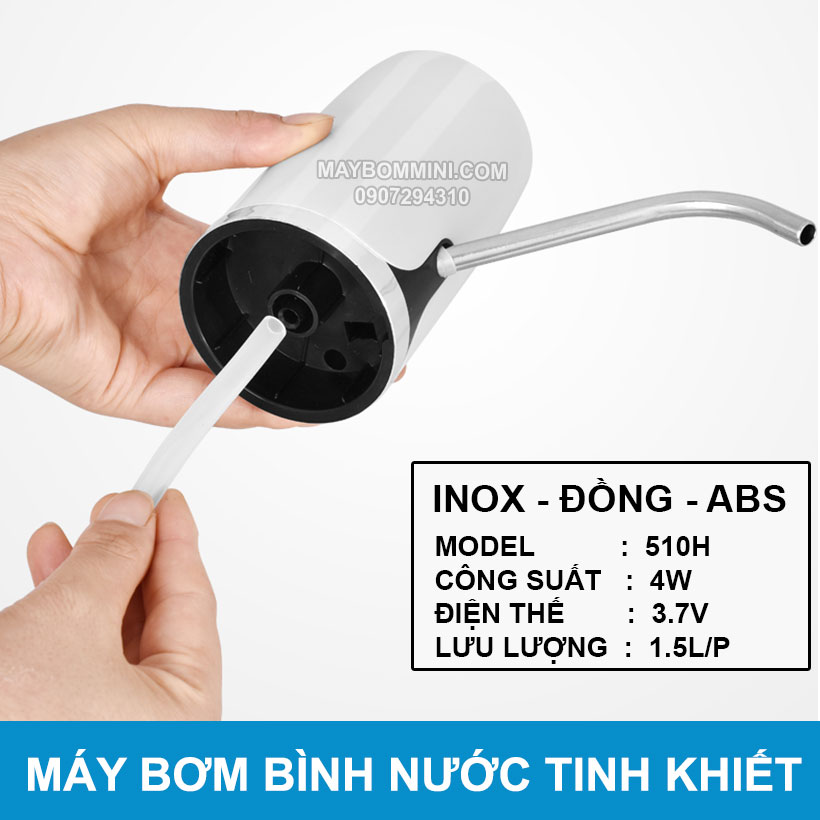 Dau Bom Nuoc Binh Tinh Khiet 20L