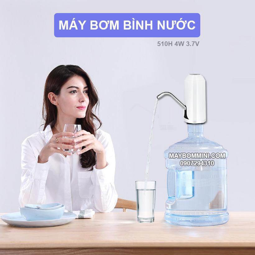 May Bom Binh Nuoc Tinh Khiet Cao Cap