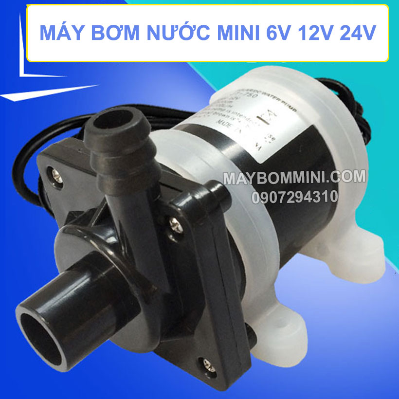 May Bom Nuoc Mini 6v 12v 24v