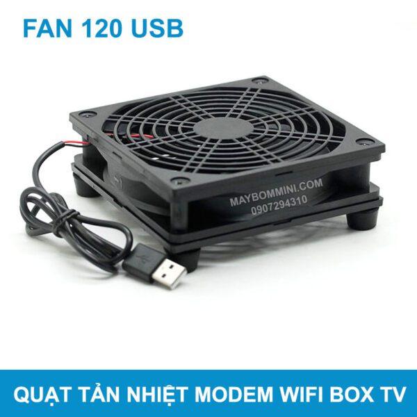 Quat Tan Nhiet Lam Mat Cho Modem Wifi