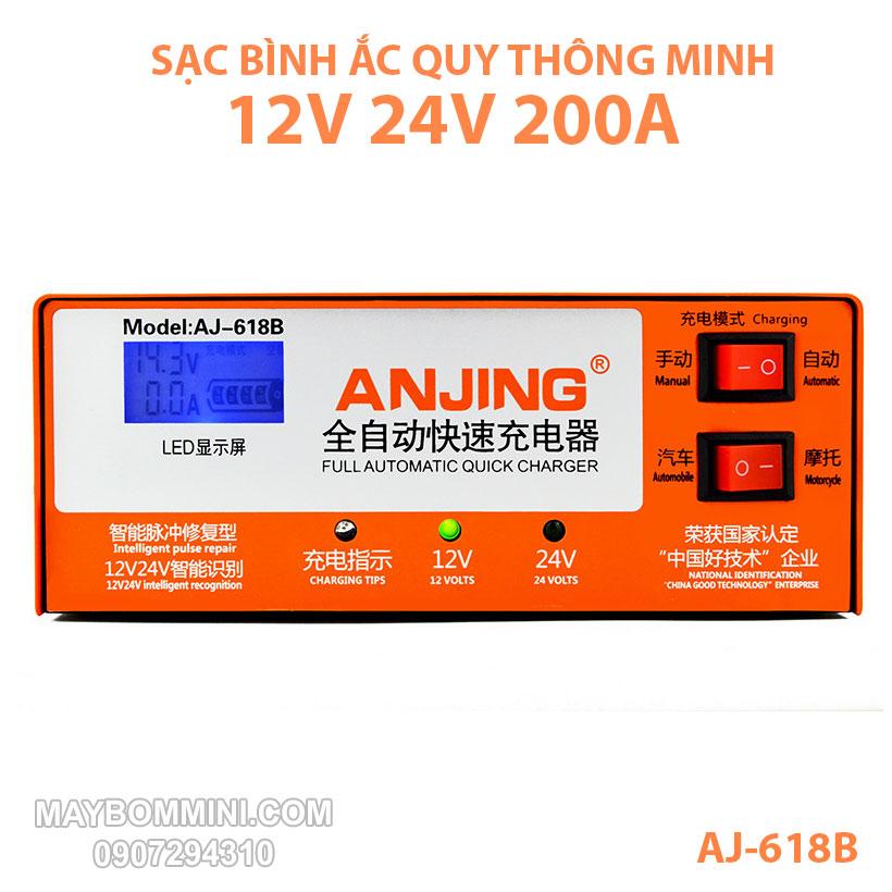 Sac Binh Ac Quy Tu Dong AJ 618B