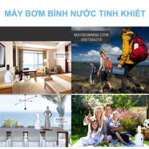 Su Dung May Bom Binh Nuoc Tinh Khiet