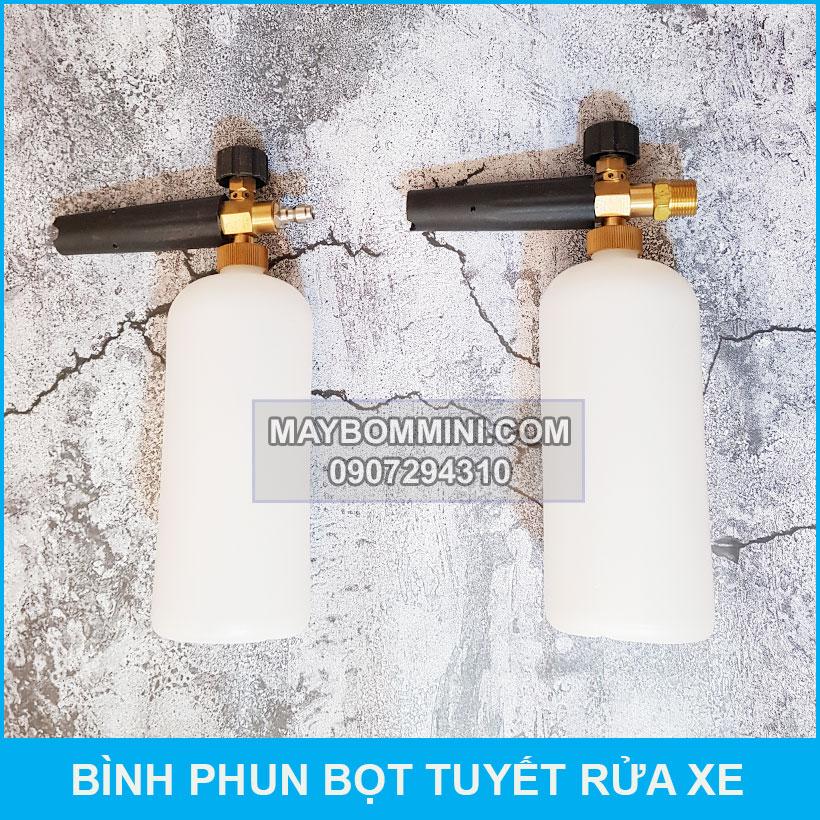 Binh Phun Bot Tuye Sa Phong Rua Xe